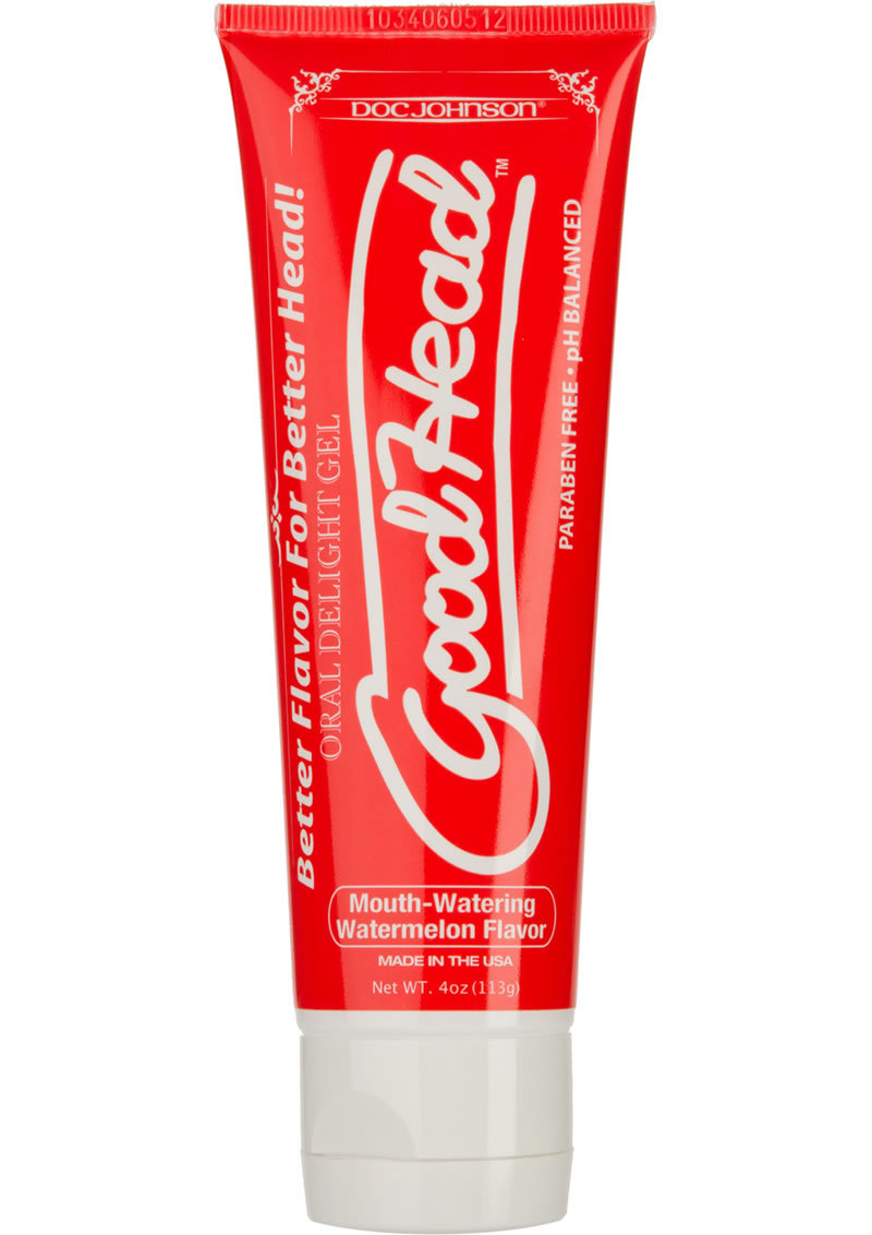 Goodhead Oral Delight Gel Flavored Watermelon 4oz